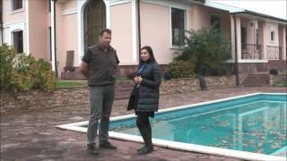 видео Как сделать бассейн в загородном доме. Возможные проблемы строительства бассейна или купели в коттедже и способы их решений.