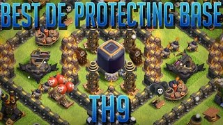 The BEST Dark Elixir Protecting Base 2018 -TH9 With PROOF - CLASH OF CLANS