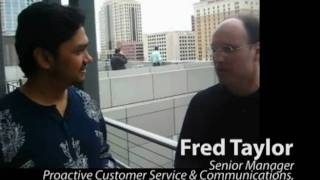 Southwest Airlines Proactive Customer Service - Interview with Fred Taylor
