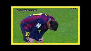 Noticias de última hora   La alimentación de Messi para evitar sus episodios de vómitos