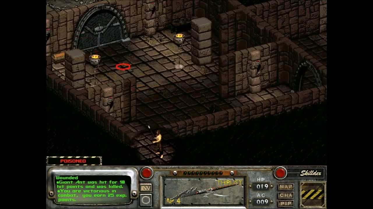 Let's Play Fallout 2: Restoration Project - 03 - Temple of Trials