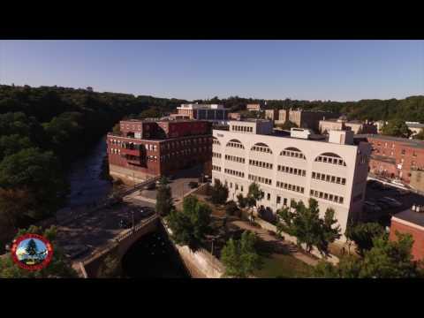 City Of Bangor Aerial Tour