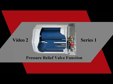 RV Water Heater Pressure Relief Valve Function - Suburban  Water Heater Series 1 Video 2