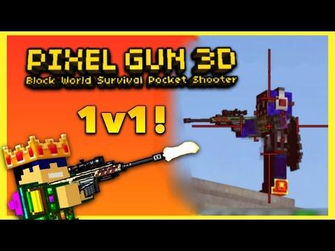 Pixel Gun 3D - 1v1 With Mundane Pixels!