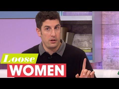 Jason Biggs Gets Flirty With The Loose Women  Loose Women