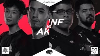 Infinity vs All Knights- SemiFinal - Liga Movistar Latinoamérica