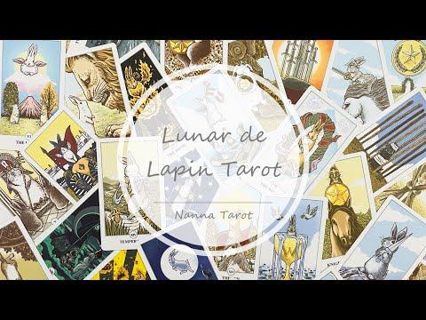 開箱  月下兔兔塔羅牌 • Luna Lapin Tarot // Nanna Tarot