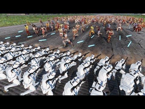 ZOMBIES LAST STAND - Star Wars MOD (ArmA 3) 4K Gameplay
