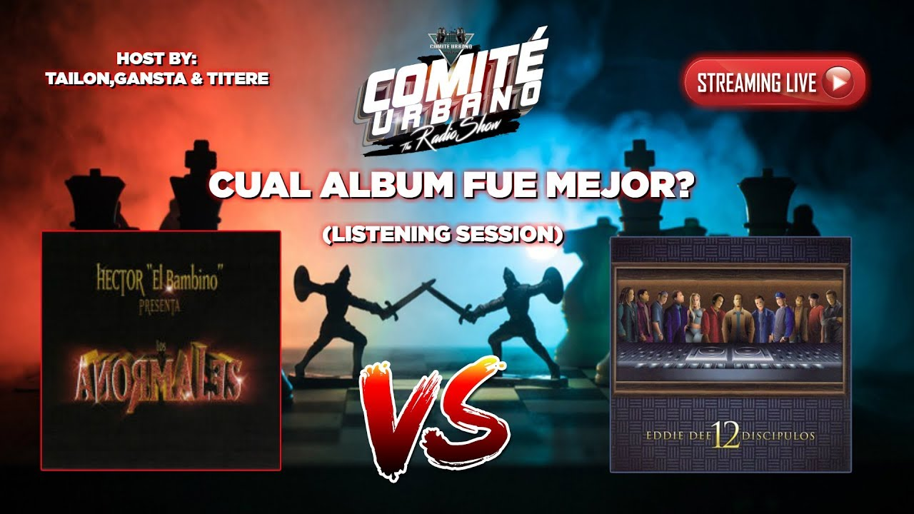 LOS ANORMALES Vs 12 DICIPULOS - CUAL ALBUM FUE MEJOR? - Listening Session