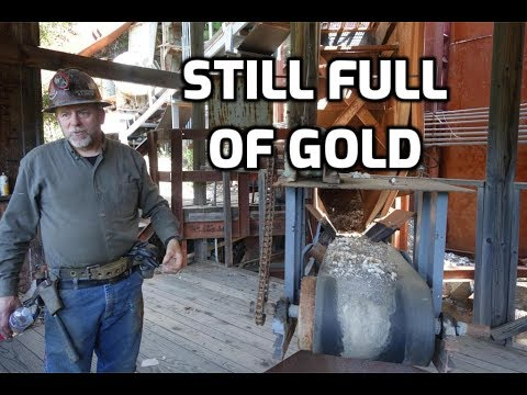 Special Visit To The Incredible 16 To 1 Mine: Part 3 - Milling Gold & Last Of The 0 Level