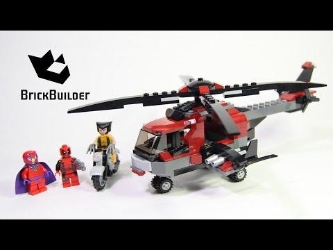 Lego Super Heroes 6866 Wolverines Chopper Showdown Lego Speed