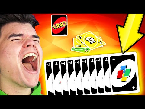TROLLING My FRIENDS With +4s In UNO!