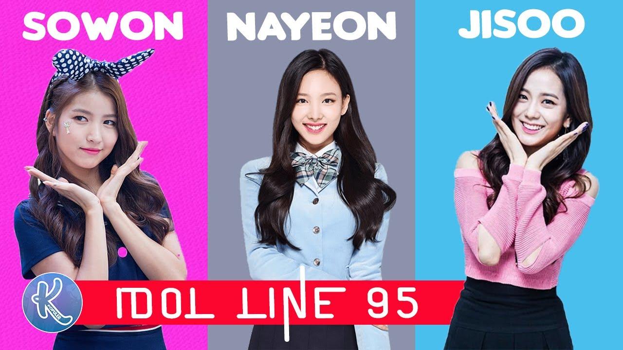 Cantik Menggemaskan! ! 10 Idol Kpop Cewek Line 1995 dengan ...