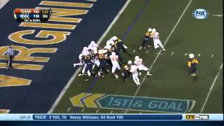 11/09/2013 Texas vs West Virginia Football Highlights