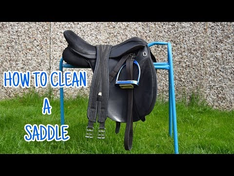 How to Clean A Synthetic Saddle