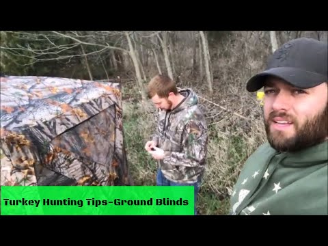 Turkey Hunting How To-Ground Blind