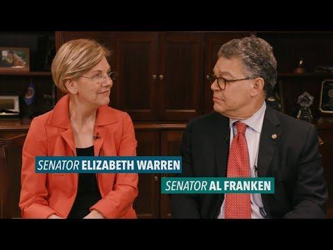 Elizabeth Warren & Al Franken break down what CEOs will do with a giant tax cut