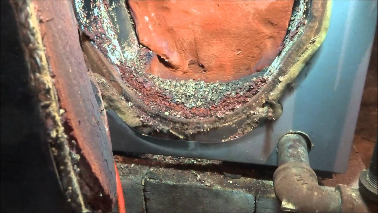 Full Oil Burner Cleaning Firebox Replacement Youtube