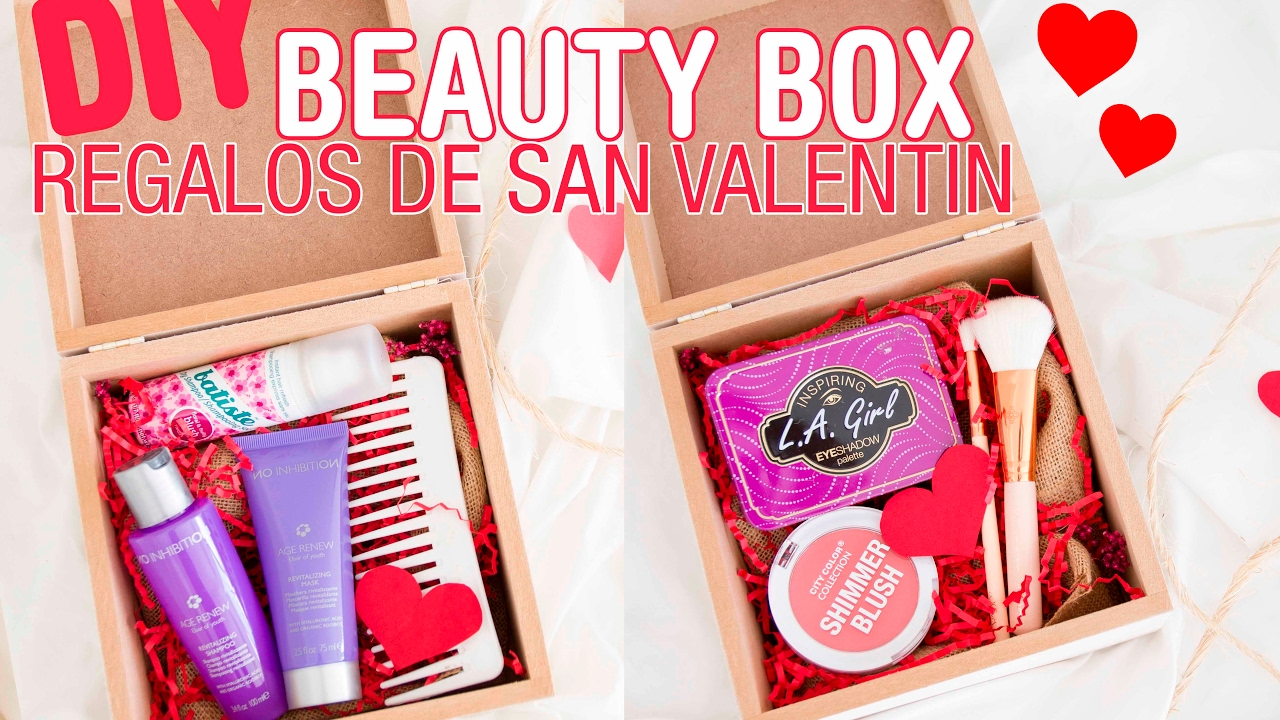Diy Para Regalar Diy Beauty Box Ideas Para Regalar A Tu Mejor Amiga!! - Youtube