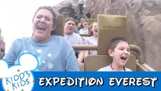 Kidd's Kids 2015 - Expedition Everest w/ James