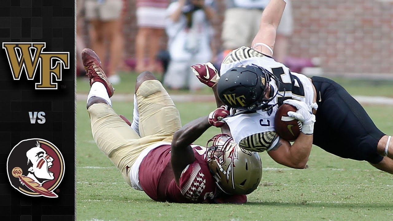 Download Wake Forest vs. Florida State Football Highlights (2018)