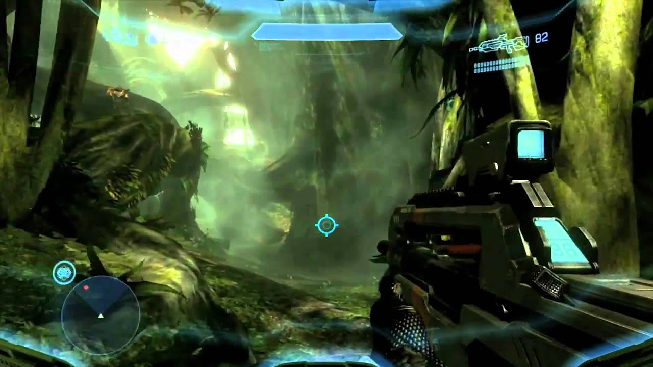 Halo 4 Multiplayer Gameplay LIVE Online - Launch Night Slayer ...