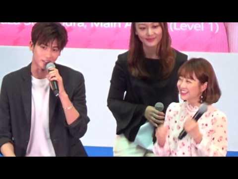170429 Park Bo Young & Park Hyung Sik Meet And Greet At Plaza Singapura