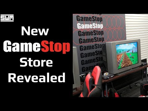 GameStop's New Redesigned Store Looks...Good?!