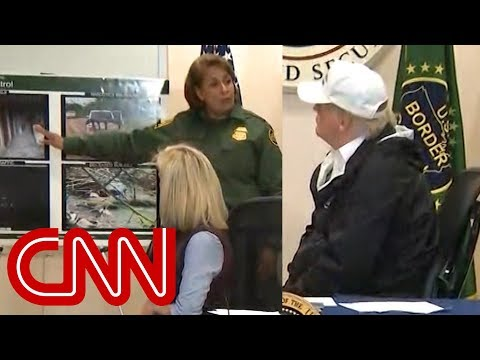 Border official shows Trump tunnels under wall