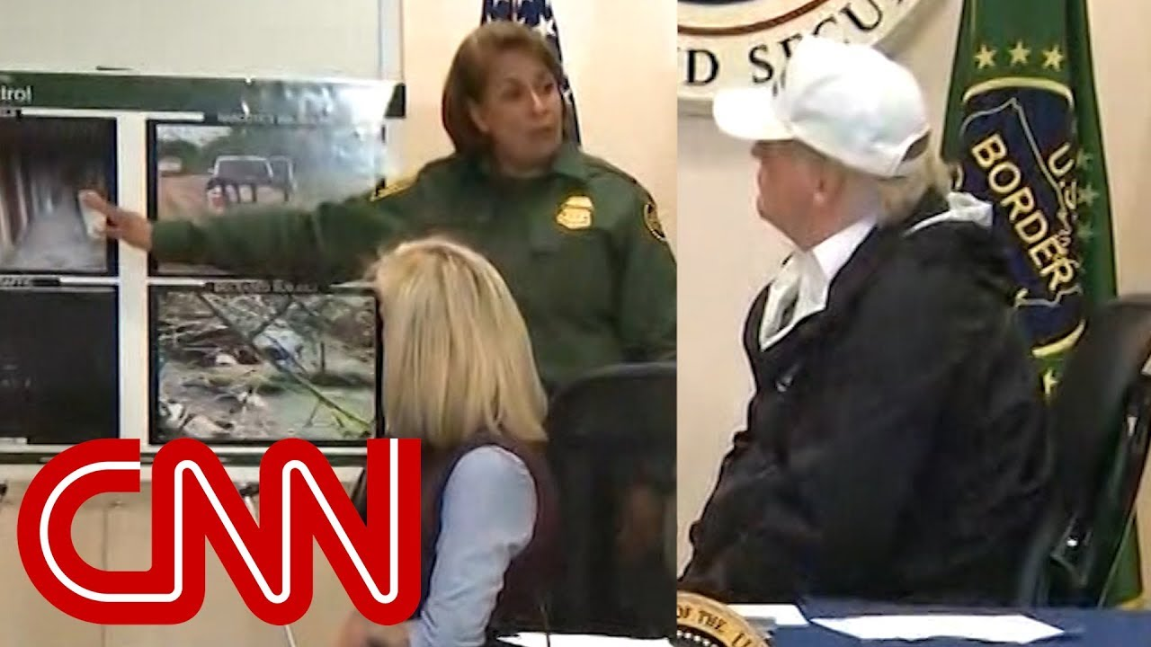 Border agent explains to Trump why a wall won't solve problems at