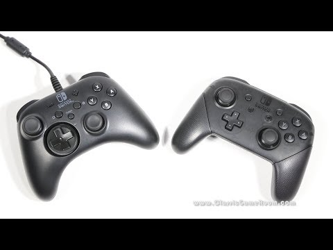 Classic Game Room - NINTENDO SWITCH HORIPAD wired controller review