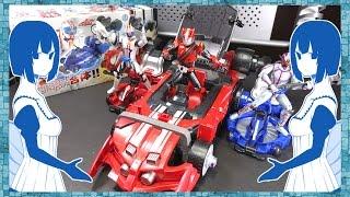 【仮面ライダードライブ】ブースタートライドロンへ合体!DXライドブースターセット レビュー!Kamen Rider Drive