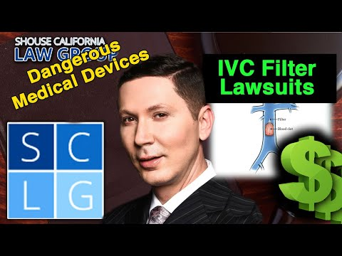 Defective IVC filter lawsuits – Compensation for serious injuries