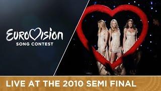 feminnem lako je sve croatia live 2010 eurovision song contest