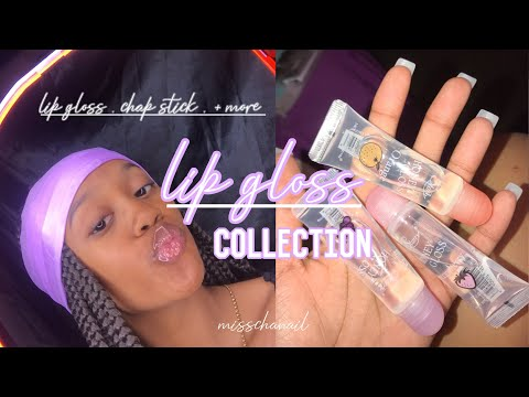 MY LIPGLOSS COLLECTION 2k19 || MISSCHANAILTV