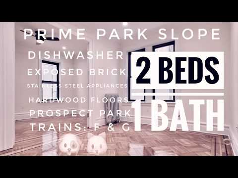 2 Bedroom Apartment in Park Slope, Brooklyn New York Video Tour