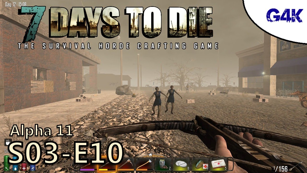 hub city visit 7 days to die alpha 11 gameplay s03e10 youtube. Black Bedroom Furniture Sets. Home Design Ideas