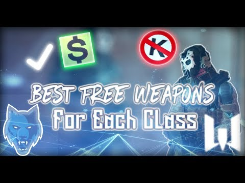 The Best Free Weapons In Warface!