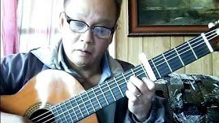 Thành Phố Mưa Bay (Ngân Giang) - Guitar Cover