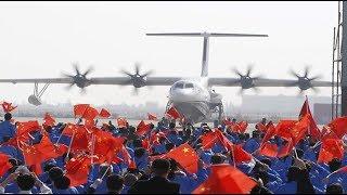 Cover images China fabrica el avión de rescate anfibio más grande del mundo→ netsysmX