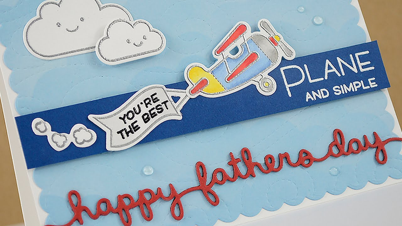 how to make a father s day card youtube
