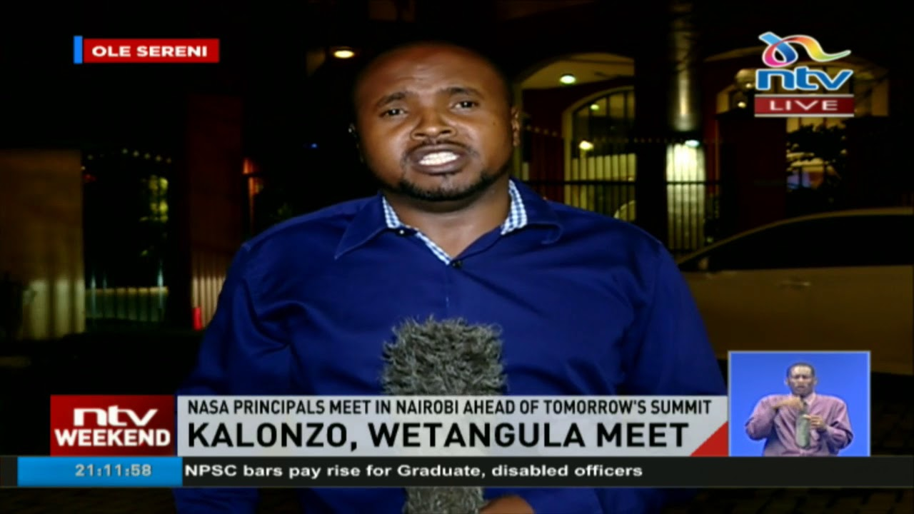 Kalonzo and Wetangula meet in Nairobi hotel for five hours ahead of NASA summit