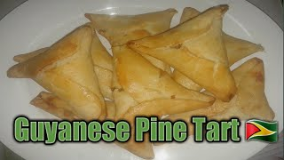 How to make Guyanese Pine Tart step by step🇬🇾/ Cooking With Afton🇬🇾