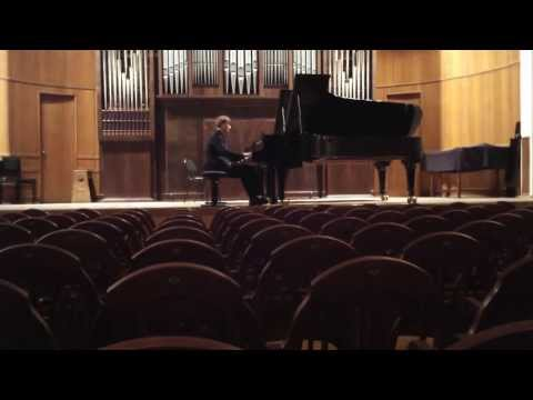 Kostiantyn Tovstukha Graduation Recital from Moscow Conservatory