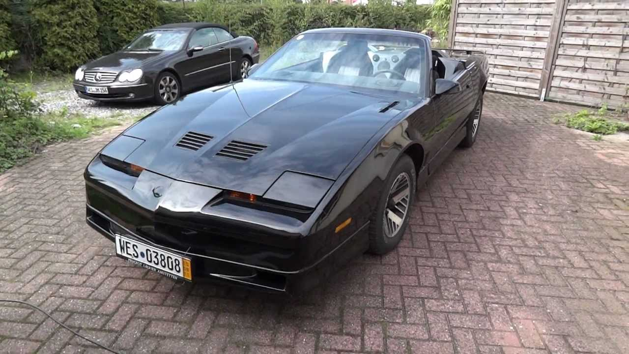 1985 Pontiac Trans Am 2 Seat Convertible   YouTube
