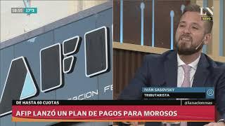 Скачать AFIP Lanzó Un Plan De Pagos De Hasta 60 Cuotas Para Morosos