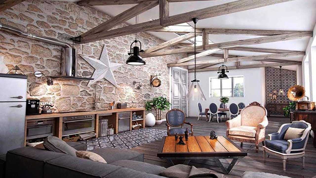 Rustic living room ideas modern rustic style rooms designs