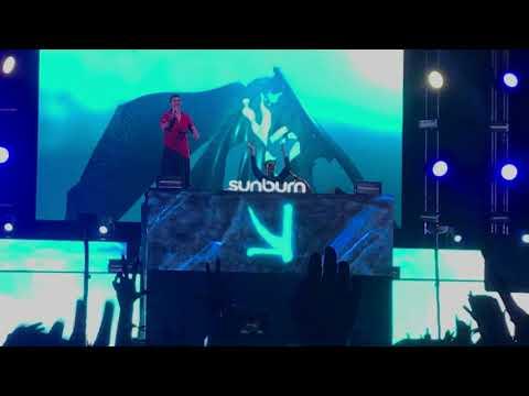 Underwater - Sonu Nigam live with KSHMR at Sunburn Arena Mumbai