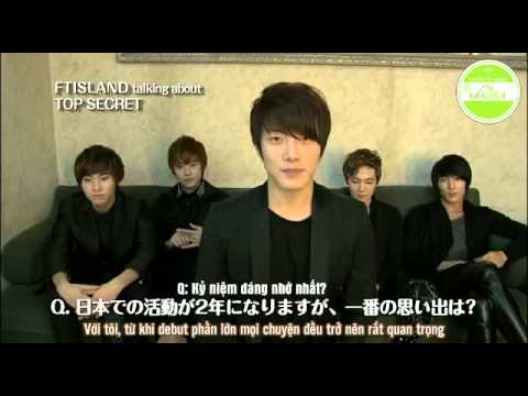 [Vietsub] FTIsland Talking About Top Secret {ft-vn.com}
