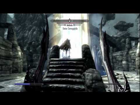 Skyrim: Skuldafn Temple To Defeating Alduin (Gameplay/Commentary)